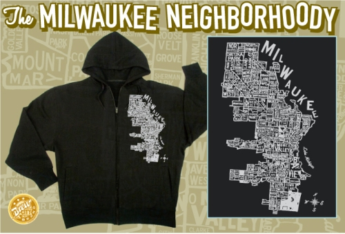 Introducing the Milwaukee Neighborhoody, available at Brew City, Summerfest